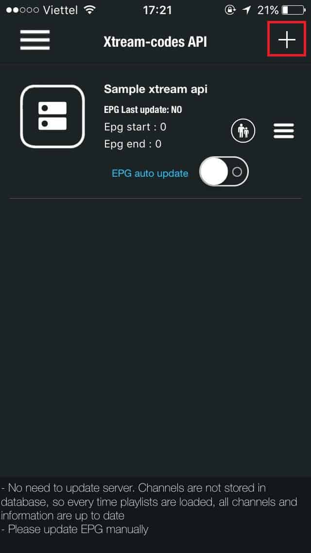 Add-your-m3u-list GSE IPTV for IOS and Apple TV